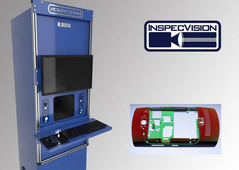 Machine de mesure optique et automatique 2D et 3D Acuity Inspecvision