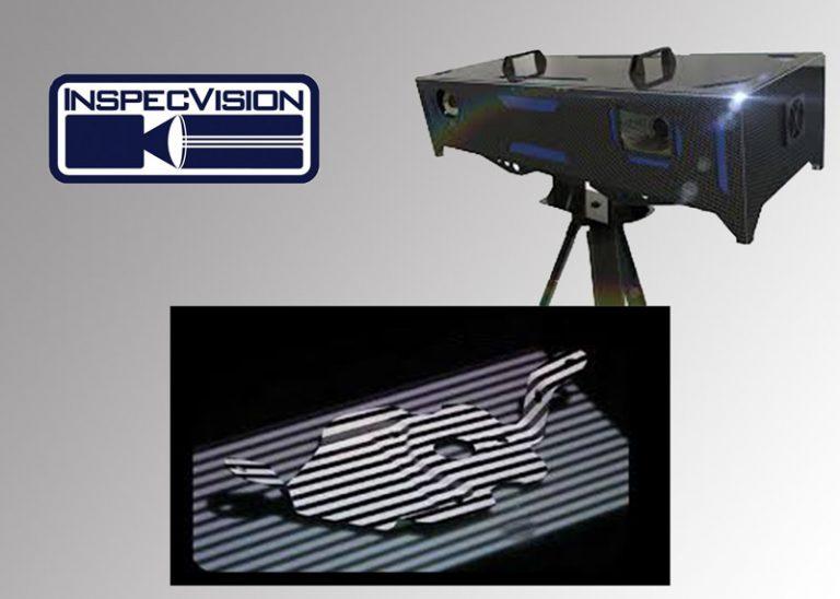 Acquisition sans contact en 3D avec une précision volumétrique de 15µm
