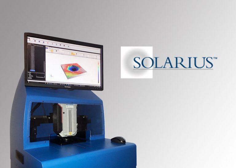 Machine de mesure de topographie de surface 3D Solarius
