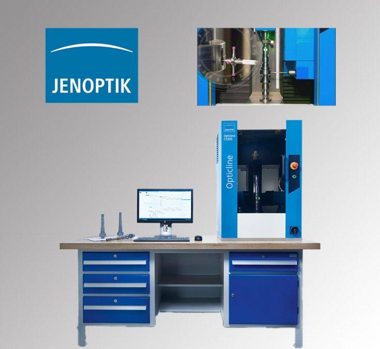 Machine de mesure optique à balayages pour les pièces de révolution de Ø à Ø