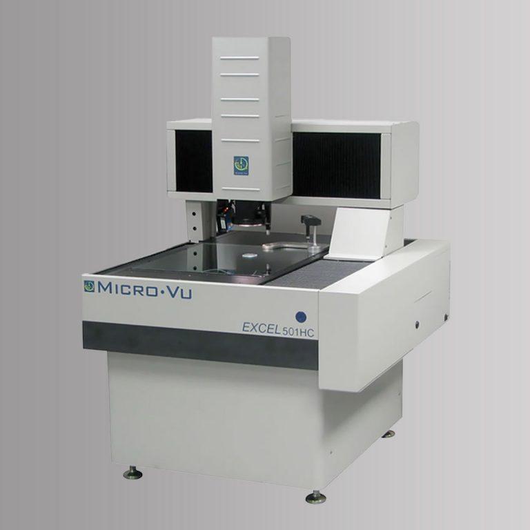 Machine de mesure optique et multicapteur en 2D et 3D Micro-Vu Excel 501HC