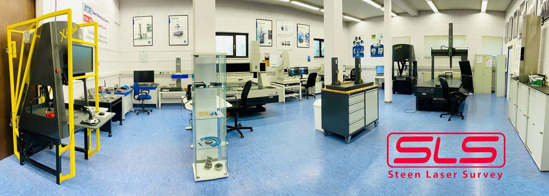 Salle d'exposition des stations de calibrage et mesurage 3D